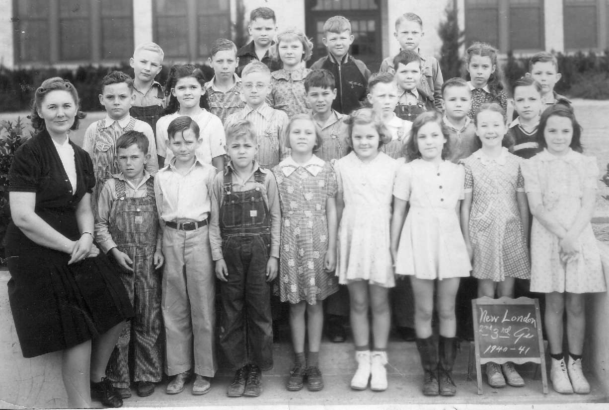 New London School 1940-41